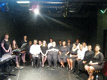 """Scenes and Songs from 'Fannie Lou'"" NYC cast and crew"